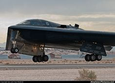 USA - Air Force 82-1067 aircraft at Nellis AFB photo. Stealth B2