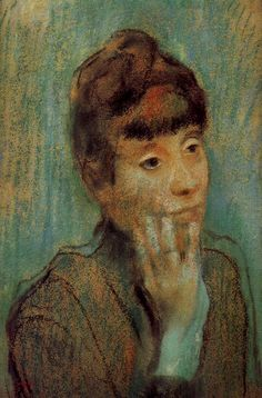 ♀ Painted Art Portraits ♀  Edgar Degas