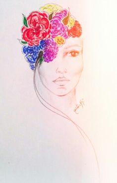 My mind flower