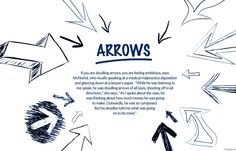 what your doodles really say about you arrows for - 878×664