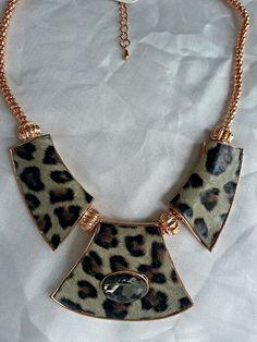 Leopar designed necklace