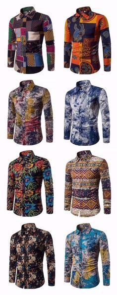 men's shirts #AfricanFashion