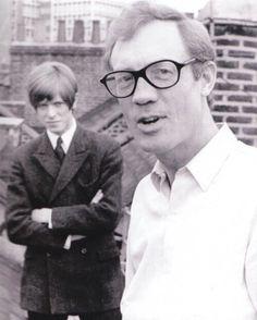 David Bowie with Ken Pitt