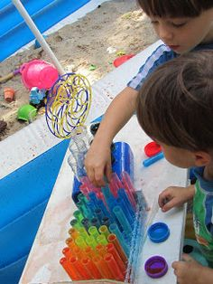 Epic Childhood: Outdoor Science Lab and Outdoor Art Corner