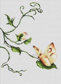Using just a delicate jab of colour here and there, this nature-themed cross stitch kit from Luca-S flutters out its subject with a minimalist mix of ...
