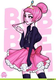 adventure time,время приключений,фэндомы,at art,Princess Bubblegum,Бубльгум - Принцесса конфетного королевства, бубльгум, принцесса бубльгум,poliip