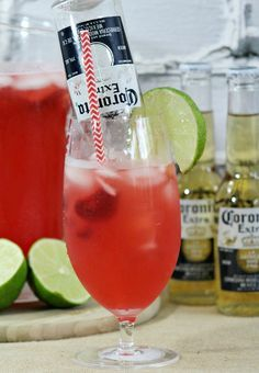 This Strawberry Beer-rita is a fun and unique alcoholic beverage for big celebrations or even just for a fun summer patio party. We can't think of anything more refreshing sounding and honestly what could be more perfect for an adult patio party than a drink with tequila and Corona. This makes me want to head back toContinue Reading …