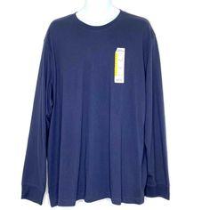 BOBBIE BROOKS Size S XL L 1X Ladies-NAVY-Short Sleeve-Football-T-Shirt-Top