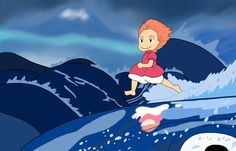 Ponyo,  one of my all time favorties!