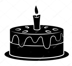 Best Image of Birthday Cake Clipart Black And White . Birthday Cake Clipart Black And White Black Silhoutte Of Birthday Cake Royalty Free Cliparts Vectors And Book Birthday Parties, Birthday Wishes For Kids, Birthday Cake For Husband, Birthday Present For Boyfriend, Birthday Gifts For Teens, Birthday Cake Clip Art, White Birthday Cakes, New Birthday Cake, Birthday Cupcakes