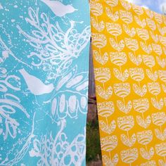Tea Towel Bundle X Two Tea Towels. One of each of my designs. £15.00