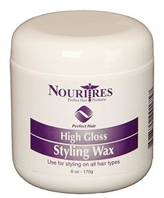 NouriTress PH High Gloss Styling Wax ** This is an Amazon Affiliate link. Details can be found by clicking on the image.
