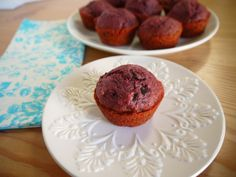 Eighty Twenty: 80--- Beet Muffins with Chocolate Chunks