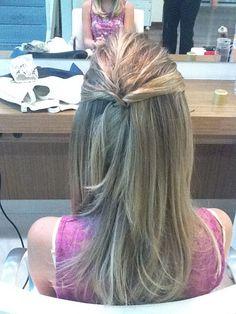 penteado noivado 2