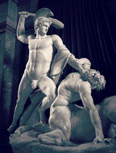 """Antonio Canova, Theseus and the Centaur """