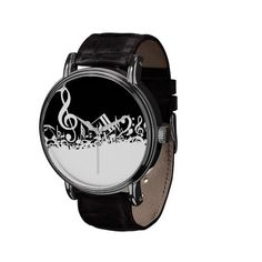 Shop Musical Notes - Watch created by ImGEEE. Sound Of Music, Music Is Life, Music Dress, Music Jokes, Band Mom, Music Jewelry, Valentines Gifts For Him, Music Gifts, Clarinet