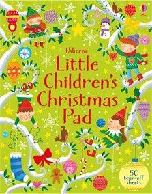 """Little children's Christmas pad"" at Usborne Children's Books Christmas Books For Kids, Christmas Puzzle, Christmas Doodles, Childrens Christmas, Christmas Activities, Book Activities, Christmas Themes, Christmas Fun, Activity Books"