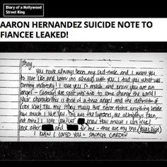 TMZ Sports has obtained the suicide note Aaron Hernandez wrote to his fiancee, Shayanna Jenkins-Hernandez — in which he tells her she will be RICH after he kills himself.  It's not hard to connect the dots. In Massachusetts, when someone dies after being convicted of a crime, they are only considered guilty postmortem if their appeal process is exhausted.  In Aaron's case, his murder conviction was pending appeal. Therefore, under MA law he died an innocent man.  As a result of dying…