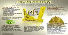 Magnesium Prevents Insomnia  A healthy sleep cycle is important to promoting overall health and the production of hormones which are synthesized during sleep. Magnesium may help reduce symptoms of insomnia and induce a deep restful night's sleep.  Primarily reliant on the same factors which regulate mood and manage stress, a healthy night's sleep is dependent on cellular magnesium concentrations. A healthy magnesium balance is needed to regulate hormones such as melatonin which in turn helps…
