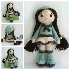 Amigurumi Doll Free Pattern —Amigurumi doll crochet free pattern Free Crochet, Crochet Hats, Amigurumi Doll, Free Pattern, Crochet Patterns, Dolls, Fashion, Moda, La Mode