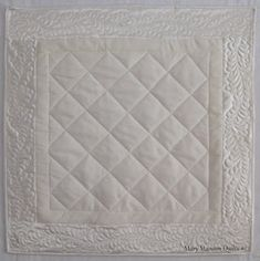Mary Manson Quilts: Wedding Dress Quilts for Lynne and Lori