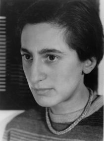 Umbo (Otto Umbehr): Portrait Anni Albers, 1929