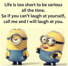 """These """"Top 23 Funny Minion Memes"""" are especially collected for you.You just scroll down and keep reading these """"Top 23 Funny Minion Memes"""" get a smile on your face. Funny Minion Pictures, Funny Minion Memes, Funny Photos, Dump A Day, Funny True Quotes, Funny Relatable Memes, Puns Jokes, Laugh At Yourself, Work Memes"""