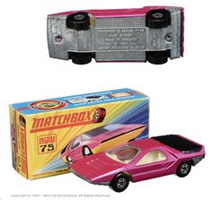 Matchbox Superfast No.75b Alfa Carabo I had a this one !
