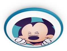 Philips Disney Mickey Mouse Children's Wall and Ceiling Light - 1 x 7.5 W…