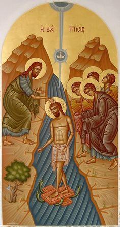 Symbolic Art, Russian Icons, Byzantine Art, John The Baptist, Orthodox Icons, Sacred Art, Religious Art, Christian Faith