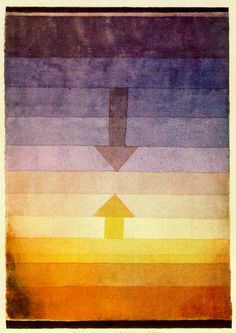 nezartdesign: Paul Klee- Separation in the Evening (1922)
