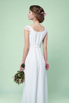 Labude Brautkleid Madeleine Vintage Stil Lace Boho