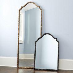 Who sells mirror decor? Find stylish mirror decor, wall art mirrors, and more at Ballard Designs today! Leaner Mirror, Bedroom Decor, Wall Decor, Bedroom Ideas, Master Bedroom, Master Bath, Frameless Mirror, Mirror Wall Art, Entryway Mirror