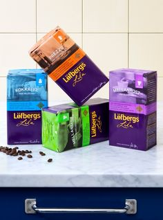 Löfbergs | Amore Packaging Design & Brand Identity