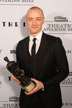 Nicole Kidman, James McAvoy and Gemma Arterton win at London Evening Standard Theatre Awards | Daily Mail Online