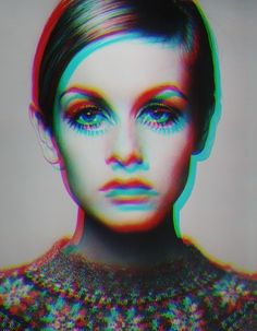 Twiggy I love the effects in the photo. So cool.