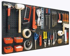 Bulldog Peg-A-System Pegboard Starter Kit, 20-Pc | Canadian Tire