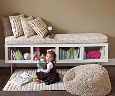 Diy Using Ikea Shelf Unit As Storage Bench Gardens Diy And Crafts And Apartments