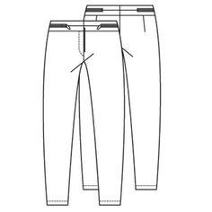 Knip Augustus 2013 naaipatroon strakke dames legging en