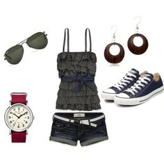 cute casual outfit....