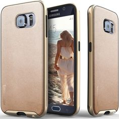 Caseology® Galaxy S6 case [Envoy Series] [Copper Gold]