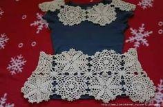 Crochet Motifs, Crochet Wool, Crochet Cardigan, Irish Crochet, Crochet Doilies, Crochet Stitches, Crochet Patterns, Beautiful Crochet, Lace Tops