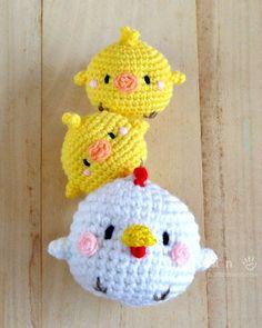 Crochet Hen & Chicks Amigurumi – Free Pattern - Crochet Amigurumi - 225 Free Crochet Amigurumi Patterns - Page 2 of 4 - DIY & Crafts