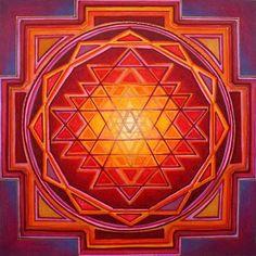 Sri Yantra Mandala 95 x Signed Mounted by JustynaSart, Sri Yantra, Mandala Design, Mandala Art, Tantra Art, Flower Of Life Pattern, Sacred Art, Sacred Symbols, Chakra Meditation, Sacred Geometry