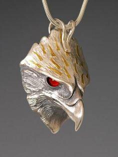 Phoenix Jewelry, Wildlife Jewelry for the Animal Lover, Phoenix Totem Pendant