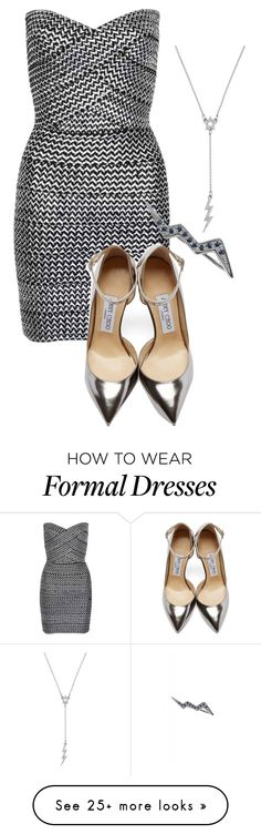 """""""if Jason was a girl formal"""" by pipermcleandream on Polyvore featuring WithChic, Jimmy Choo, Betsey Johnson, Mew., women's clothing, women's fashion, women, female, woman and misses"""