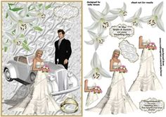 beautiful Bride and groom on Craftsuprint - View Now!
