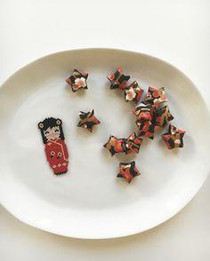 Origami - Kokeshi - Étoiles