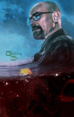 Breaking Bad Death Print by Bosslogic Bad Fan Art, Bad Art, Series Movies, Tv Series, Netflix Series, Breaking Bad Meme, Walter White, A Series Of Unfortunate Events, Cultura Pop