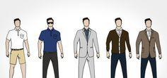 5 maneiras de usar uma Camisa Polo